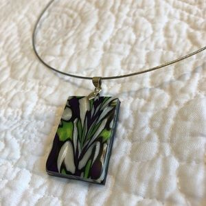 Artist-made pendant necklace